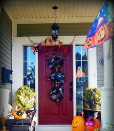 decoracion de las puertas de casa en halloween 25 » Ideas geniales para la decoración de las puertas de casa en Halloween 14