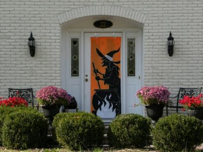 decoracion de las puertas de casa en halloween 28 » Ideas geniales para la decoración de las puertas de casa en Halloween 12