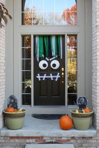 decoracion de las puertas de casa en halloween 3 » Ideas geniales para la decoración de las puertas de casa en Halloween 3