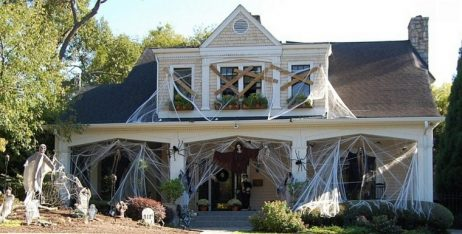decoracion de las puertas de casa en halloween 4 » Ideas geniales para la decoración de las puertas de casa en Halloween 4