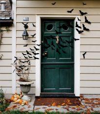 decoracion de las puertas de casa en halloween 7 » Ideas geniales para la decoración de las puertas de casa en Halloween 5