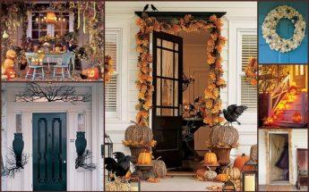 decoracion de las puertas de casa en halloween 8 » Ideas geniales para la decoración de las puertas de casa en Halloween 6