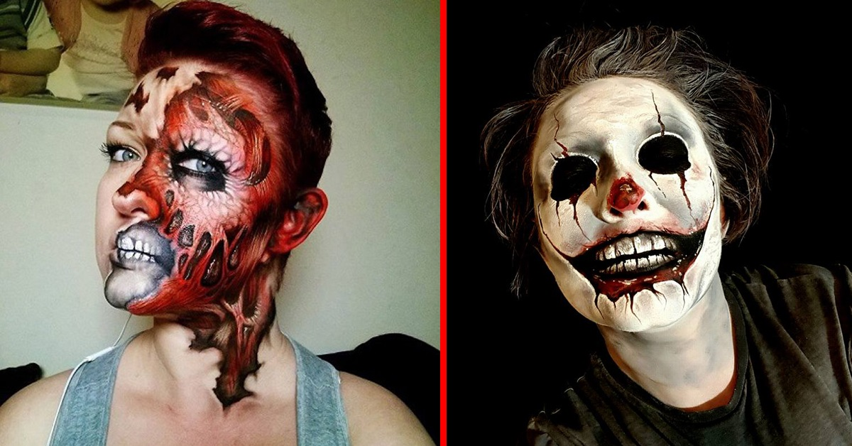 maquillaje de Mikky Selley » Maquillajes espectaculares para este Halloween 1