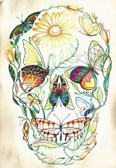 diseno tatuajes calaveras 1 • 2020 » 30 Tatuajes de Calaveras para inspirarte 6