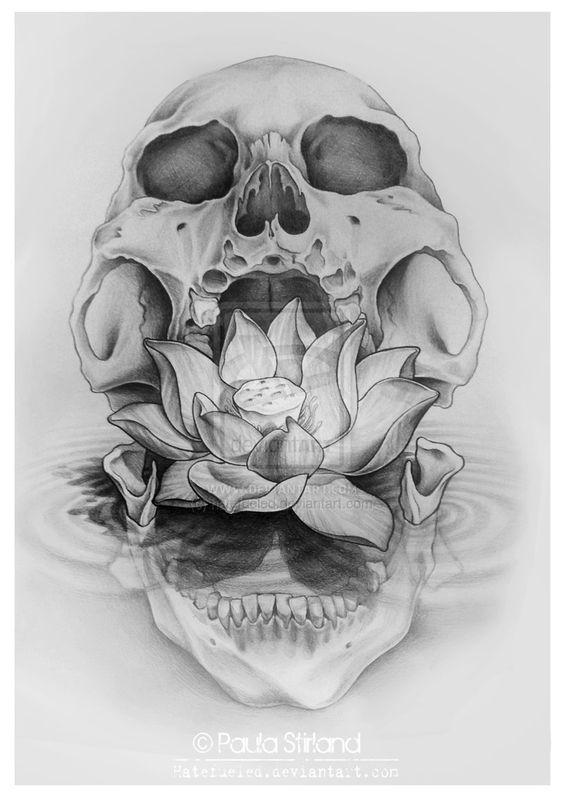 diseno tatuajes calaveras 2 » 30 Tatuajes de Calaveras para inspirarte 8