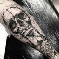 tatuajes calaveras 1 • 2020 » 30 Tatuajes de Calaveras para inspirarte 26