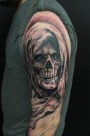tatuajes calaveras 2 • 2020 » 30 Tatuajes de Calaveras para inspirarte 25