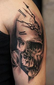 tatuajes calaveras 3 • 2020 » 30 Tatuajes de Calaveras para inspirarte 30