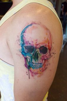 tatuajes calaveras 4 • 2020 » 30 Tatuajes de Calaveras para inspirarte 29
