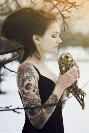 tatuajes calaveras para mujeres 4 • 2020 » 30 Tatuajes de Calaveras para inspirarte 16