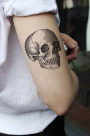 tatuajes craneos 2 • 2020 » 30 Tatuajes de Calaveras para inspirarte 12