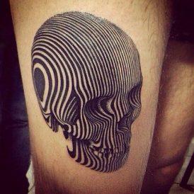 tatuajes craneos 3 • 2020 » 30 Tatuajes de Calaveras para inspirarte 13