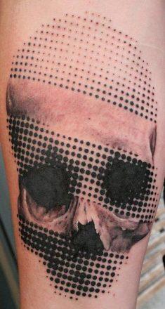 tatuajes craneos 5 • 2020 » 30 Tatuajes de Calaveras para inspirarte 15