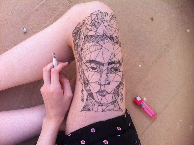 1tatuajes frida kahlo 1 • 2020 » Ideas Originales para Tatuajes de Frida Kahlo 20