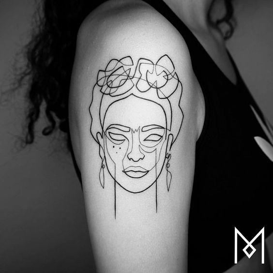 1tatuajes frida kahlo 16 • 2020 » Ideas Originales para Tatuajes de Frida Kahlo 22