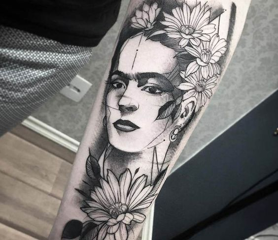 1tatuajes frida kahlo 26 • 2020 » Ideas Originales para Tatuajes de Frida Kahlo 24