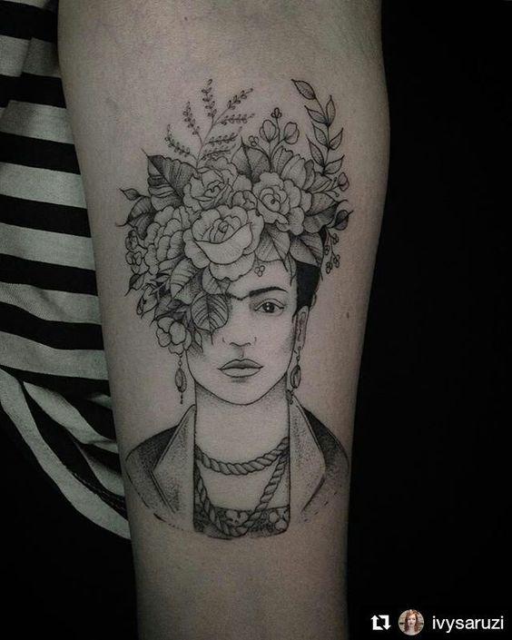 2tatuajes frida kahlo 12 • 2020 » Ideas Originales para Tatuajes de Frida Kahlo 16