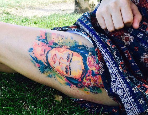 tatuajes frida kahlo 19 • 2020 » Ideas Originales para Tatuajes de Frida Kahlo 26