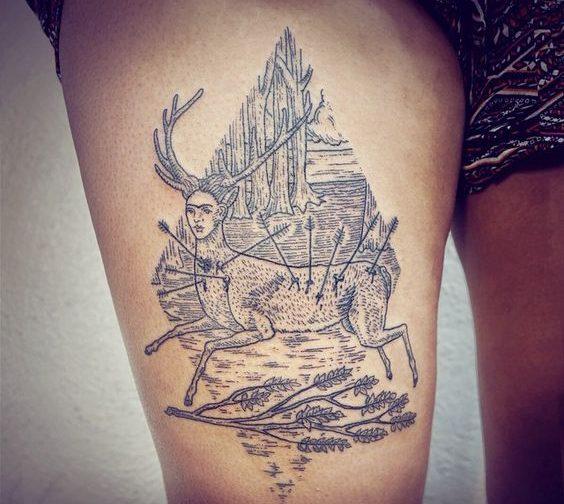 tatuajes frida kahlo 24 e1498429218895 • 2020 » Ideas Originales para Tatuajes de Frida Kahlo 34