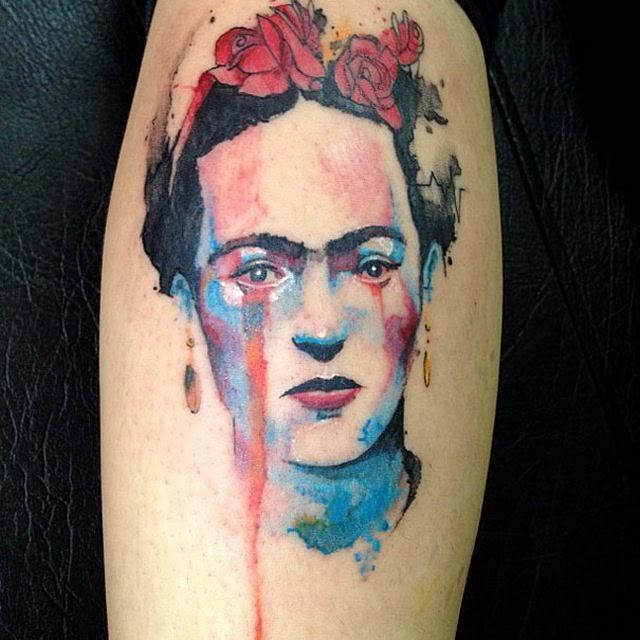 tatuajes frida kahlo 28 • 2020 » Ideas Originales para Tatuajes de Frida Kahlo 31