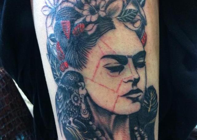 tatuajes frida kahlo 7 • 2020 » Ideas Originales para Tatuajes de Frida Kahlo 6