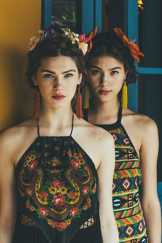 disfraz frida kahlo mujer 1 » Geniales ideas para un Disfraz de Frida Kahlo 11
