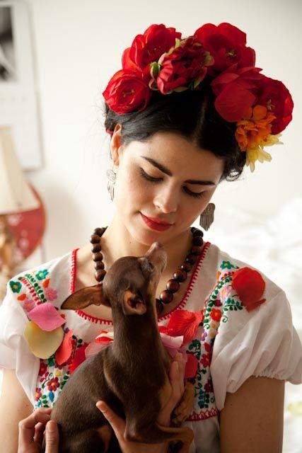 disfraz frida kahlo mujer 2 » Geniales ideas para un Disfraz de Frida Kahlo 12