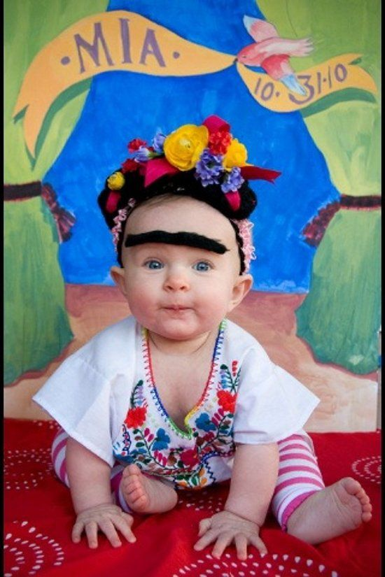 dizfraz frida kahlo nina 1 » Geniales ideas para un Disfraz de Frida Kahlo 6