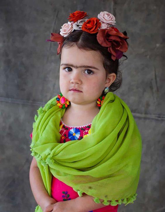 dizfraz frida kahlo nina 5 » Geniales ideas para un Disfraz de Frida Kahlo 5