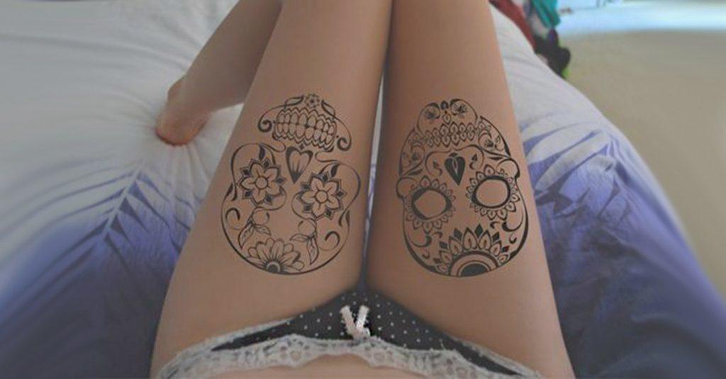 portada tatuajes calaveras mexicanas • 2020 » 33 Tatuajes de Calaveras Mexicanas (+Significados) 1