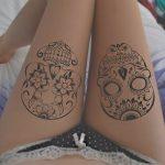 portada tatuajes calaveras mexicanas » Tatuajes de Calaveras Mexicanas (+Significados) 52