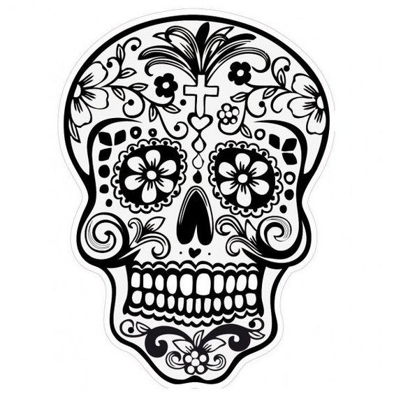 tatuajes calaveras mexicanas diseños 6 • 2020 » 33 Tatuajes de Calaveras Mexicanas (+Significados) 34