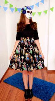 vestidos de catrinas 3 • 2020 » 50 Ideas muy Originales para Vestidos de Catrinas 44