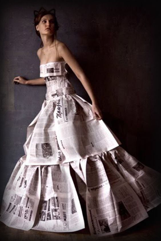 vestidos de catrinas de papel 4 » Vestidos de Catrinas: 50 Ideas Originales 26