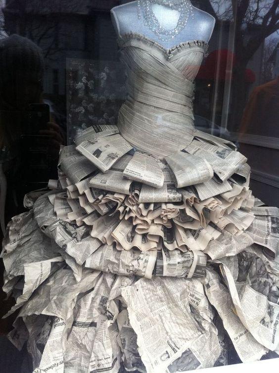 vestidos de catrinas de papel 7 » Vestidos de Catrinas: 50 Ideas Originales 29