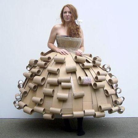 vestidos de catrinas de papel 8 » Vestidos de Catrinas: 50 Ideas Originales 30