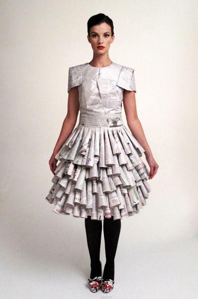 vestidos de catrinas de papel 9 » Vestidos de Catrinas: 50 Ideas Originales 32