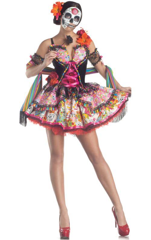 vestidos de catrinas modernas 5 » Vestidos de Catrinas: 50 Ideas Originales 16