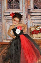 vestidos de catrinas niñas 1 • 2020 » 50 Ideas muy Originales para Vestidos de Catrinas 32