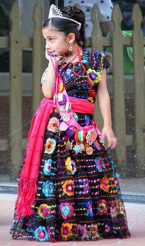 vestidos de catrinas niñas 2 » Vestidos de Catrinas: 50 Ideas Originales 34