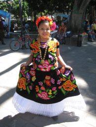 vestidos de catrinas niñas 3 • 2020 » 50 Ideas muy Originales para Vestidos de Catrinas 34