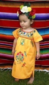 vestidos de catrinas niñas 5 • 2020 » 50 Ideas muy Originales para Vestidos de Catrinas 36