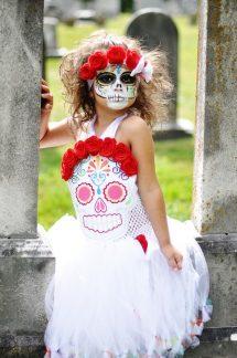 vestidos de catrinas niñas 7 • 2020 » 50 Ideas muy Originales para Vestidos de Catrinas 38