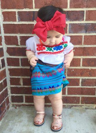 vestidos de catrinas niñas 9 • 2020 » 50 Ideas muy Originales para Vestidos de Catrinas 40