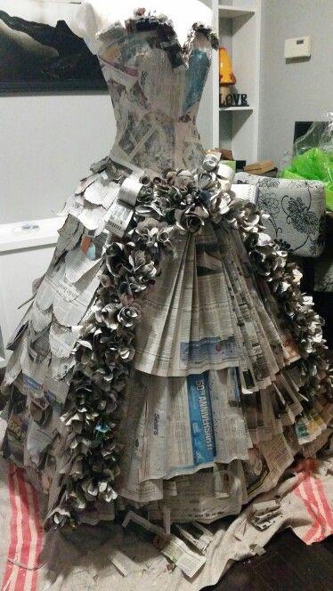 vestidos de catrinas reciclados 3 » Vestidos de Catrinas: 50 Ideas Originales 17