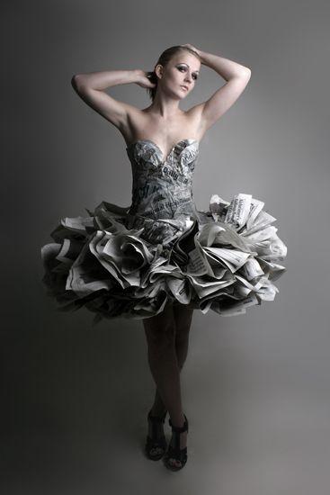 vestidos de catrinas reciclados 7 » Vestidos de Catrinas: 50 Ideas Originales 20