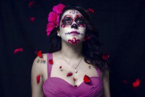 portada imágenes catrinas maquillaje • 2020 » 100 Imágenes de Catrinas Mexicanas | Maquillaje | Cholas 8