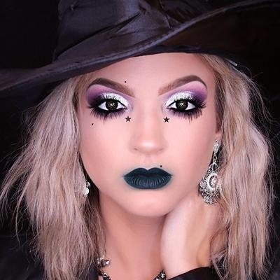 maquillaje de bruja linda 1 » Maquillajes de Brujas para Halloween 12