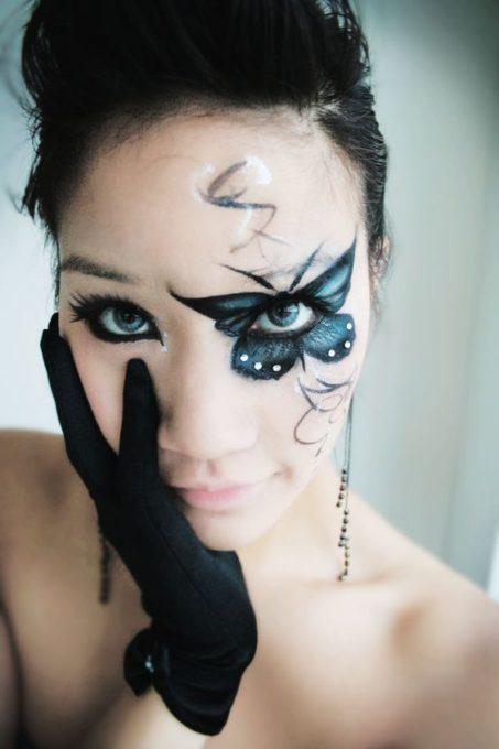 maquillaje de bruja linda 2 » Maquillajes de Brujas para Halloween 13