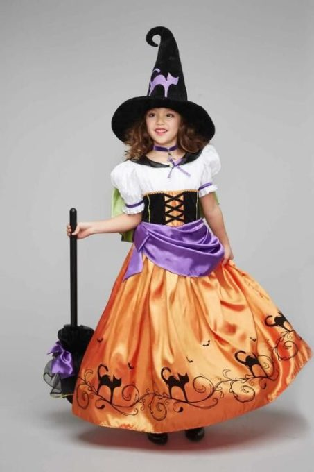maquillaje de bruja para niñas bonita 2 » Maquillajes de Brujas para Halloween 18